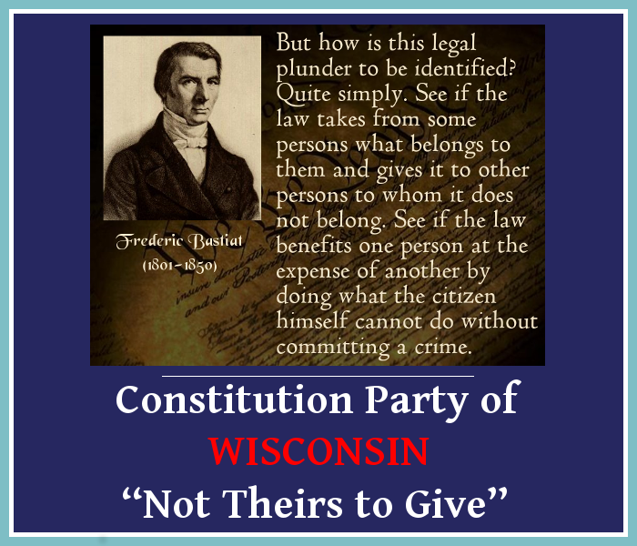 Not Theirs to Give A Contemporary Lesson on the Principle of Legal Plunder