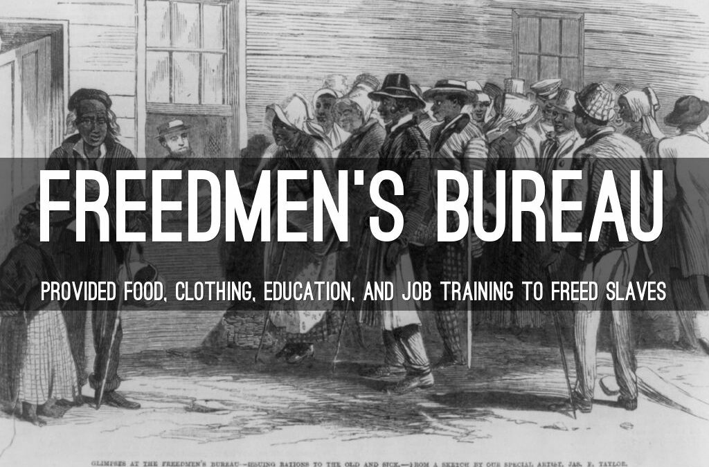 LESSONS FROM THE FREEDMEN'S BUREAU (1865-1872) …AND HOW THE DEMOCRATS AND REPUBLICANS FAIL RESIDENTS OF PUBLIC HOUSING